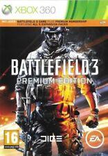 Battlefield 3-Premium Edition (Xbox 360 Game) * Buone condizioni *