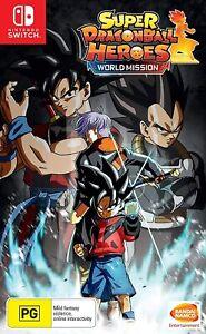 Super Dragon Ball Heroes World Mission Nintendo Switch Brand New