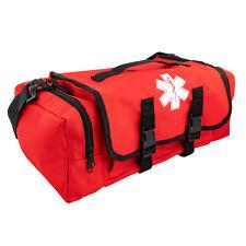 LINE2design First Aid Bag - Medical Supplies Trauma First Responder Bag - Red