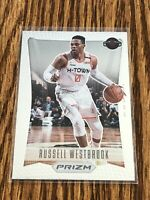 2020-21 Prizm Russell Westbrook 2012 Tribute Flashback