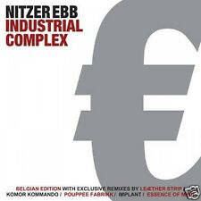 NITZER EBB Industrial Complex (Special Belgian Edition) CD 2010
