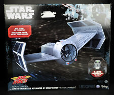 Star Wars Air Hogs RC Remote Control Tie Fighter Advance Darth Vader Vehicle Toy