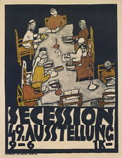 Egon Schiele Secession 49 Exhibition Giclee Canvas Print Paintings Poster Reprod