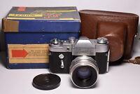 ZENIT 3M in BOX Soviet / Russian 35mm SLR Camera, Helios-44 (2/58)
