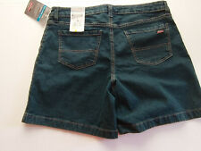 Womens Dickies Denim Relaxed Fit Shorts Size 10 NWT