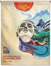 Women's World Cup CANADA 2015 Official Commemorative Event Poster BANNER