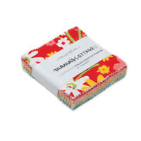 "MINI CHARM PACK~Mama's Cottage~MODA FABRIC~42-2.5""SQUARES~24050MC~Prairie Grass"