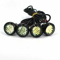 2PCS Ice Blue Eagle Eye 15W LED Light Bulbs Car Daytime Running Lights DRL 12V
