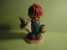 Goebel Charlot Byj Redhead The Good News Boy with Flowers Candy Sourballs #26