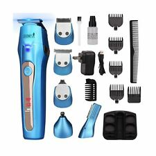 Ceenwes Cool 5 In 1 Mens Grooming Kit Professional Beard Trimmer Rechargeable...
