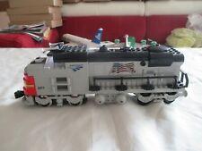 LEGO® MOC Santa Fe Lokomotive mit 9V  Motor für Stromschienen