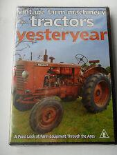 VINTAGE TRACTORS FARM MACHINERY DVD RENAULT CHAMBERLAIN M A N MARSHALL MASSEY FE