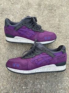 ASICS GEL-Lyte III After Hours Purple Cement Raekwon Ronnie Fieg Size 9