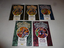 THE RING OF THE NIBELUNG BOOK LOT #1-4 DC COMICS RHINEGOLD SIEGFRIED VALKYRIE >>