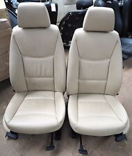 BMW Front Seat Set E90 Beige Leather VGC
