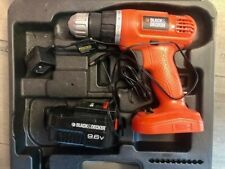 Black and Decker 9.6Volt Cordless Electric Drill. Used good condition.