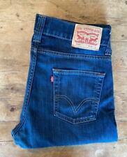 LEVIS 506 Regular Straight Boot Cut Jeans Size W34 L32 *DAPPER*