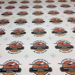 500 Bumper Stickers Printed Full Colour Business Club Promotional Decal Car