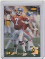 1995 IMAGES LIMITED JOHN ELWAY ICONS INSERT CARD
