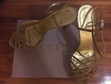 J.CREW COLLECTION HUARACHE HEELS - SZ 11 - LOTS OF STYLE!