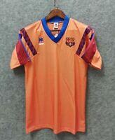1991-92 Barcelona Away Retro Soccer Jersey