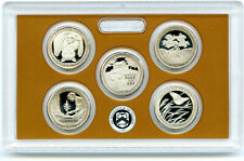 2020 S USMINT AMERICA THE BEAUTIFUL ATB PROOF 5 COIN QUARTER SET - NO BOX OR COA