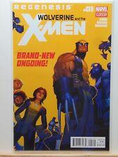 Wolverine and the X-Men Regenesis #1 2nd Print Variant Marvel Comics CB3683