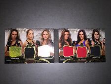 2014 Topps UFC Knockout Triple Threads Relic Double Combos Numbered 30/36.