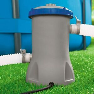 530gal Electric Filter Pump Swimming Pool Water Cleaning Flowclear 58383 Bestway