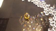 Golden Yellow crystal 20mm feng shui leaded sun catcher