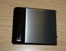 Genuine Original Samsung F480 Tocco Battery CoverBlack & Silver / Steel