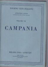 touring club italiano - CTI - attraverso l italia - campania