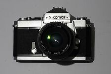 Nikon Nikomat FTN 35mm film SLR with 50mm f2 nikkor lens