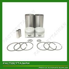 Liner Piston Kit Set STD for KUBOTA Z482 (Liner x 2 + Piston x 2 + Ring x 2)