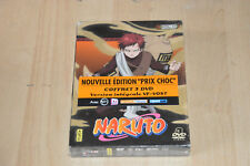 Coffret 3 DVD NARUTO vol. 17 - Version intégrale - NEUF sous blister