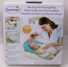 Summer Infant Bath Sling Badeeinsatz mit wärmenden Flügeln gepolstert NEU