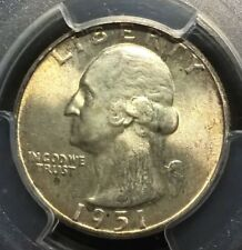1951  Washington Quarter  PCGS MS66