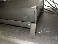 Microsoft Xbox One X Console Corner Feet Horizontal Organizer Improves Cooling