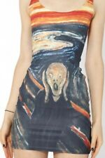 SCREAM Black Milk Dress Brand New With Tags Size Large Museum Sold Out