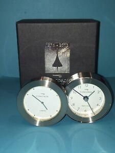 British Airways Concorde Travel Alarm Clock, Dual Time London & New York