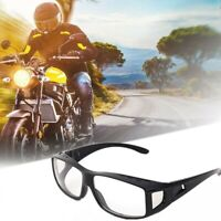 Windproof Dustproof Riding Glasses Outdoor Sports Motorcycle UV400 Goggles Clear
