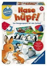 Ravensburger Spielend Erstes Lernen Bewegungsspiel Hase hüpf 24735
