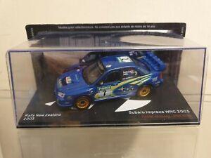 IXO / ALTAYA - 2003 SUBARU IMPREZA WRC - 1/43 SCALE MODEL  RALLY NEW ZEALAND
