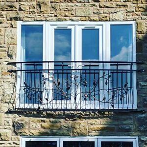 Powder coated Juliet Balcony, Balustrades, Railings. Number 16