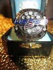 USSSA Baseball Team NIT Champions Finalists Gold Ring