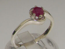 9 Carat Ruby White Gold Fine Jewellery