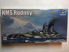 Trumpeter 1/700 Corazzata HMS Rodney Modellino in Kit