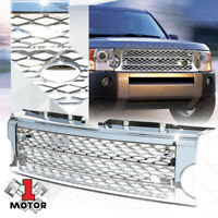 For 2005-2009 Land Rover LR3{AUTOBIOGRAPHY STYLE}Chrome ABS Bumper Grille Grill