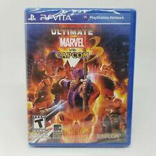 NEW SEALED Ultimate Marvel vs. Capcom 3 (Sony PlayStation Vita, 2012)