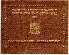 Vatikan  -  2 Euro Gedenkmünze  - Weltjugendtag Madrid  -  2011